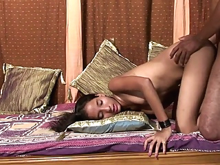 Real Indian couple TEENA and Raju amateur anal couple