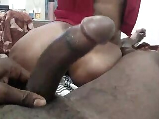 South Indian wife gives morning blowjob blowjob handjob indian