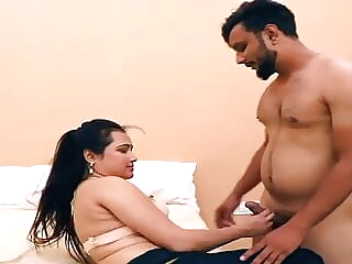 Indian hot bhabhi fucking in bedroom in saree, HD blowjob creampie bukkake