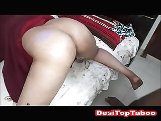 Indian Muslim MILF in hijab kitchen to bed doggy creampie asian milf old & young